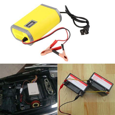 car battery charger voltage 12v 6a intelligent auto car battery charger voltage