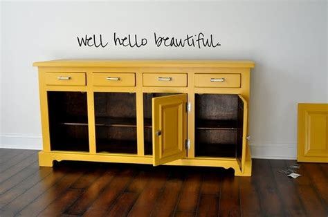 awesome yellow buffet dinning room pinterest paint