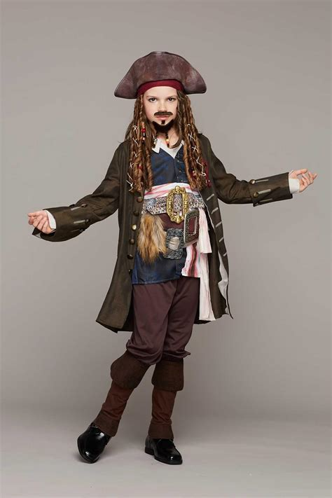 how to make a jack sparrow costume legendary costumes ideas more pirates of the caribbean jack sparrow costume for boys