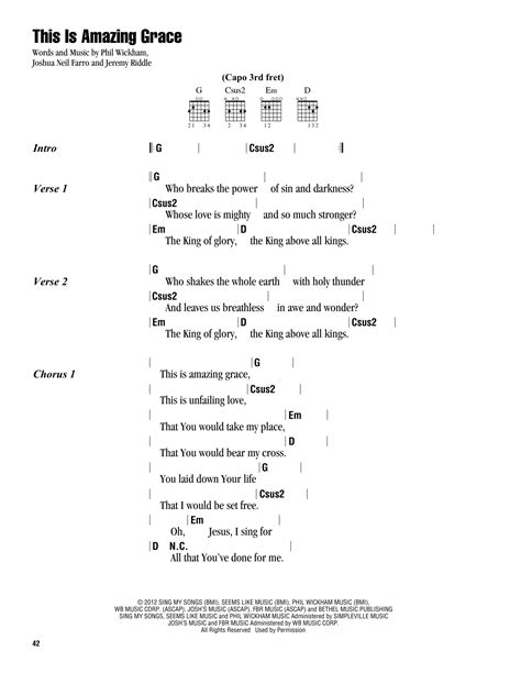Standing In The Need Of Prayer Piano by This Is Amazing Grace Sheet Music By Phil Wickham Lyrics