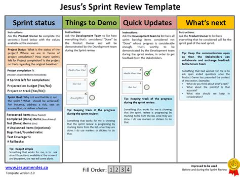 techniques to improve sprint review jesus mendez