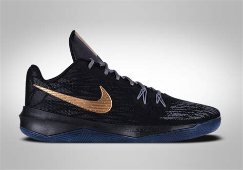 nike zoom evidence ii black gold price  basketzonenet