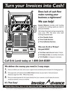 Invoice Template For Trucking Company by Marketing Materials Wyatt Communications