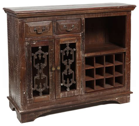 Wine Cabinet Bar Furniture by Cambria Wine Cabinet 54 Quot Traditional Wine And Bar