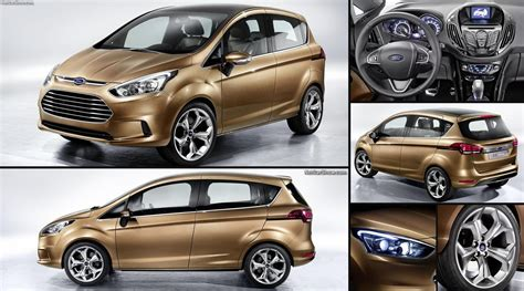ford  max concept  pictures information specs