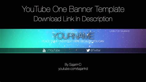 geometric lines youtube channel art banner template photoshop in