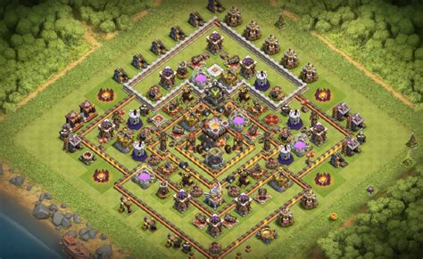 th11 clash of clans best base layouts 16 th7 to th11 farming trophy war base layouts for june