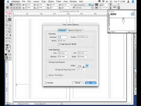 tutorial adobe indesign cs2 adobe indesign cs2 align away from spine youtube