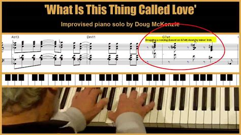 youtube tutorial jazz piano what is this thing called love jazz piano tutorial youtube