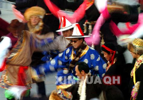 what race celebrates new year the cheerful tibet celebrates the new year
