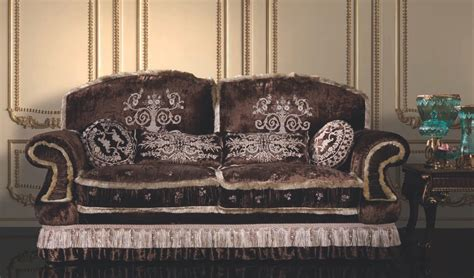 italian style two person sofa