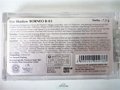 Eyeshadow Sariayu Borneo 3 sariayu trend warna 2014 eye shadow borneo b 03 silver