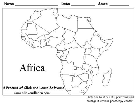 World Atlas Outline Map Of Africa by Pin By Nessy On Freebies Free Printables