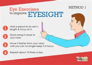 how to better your eye vision home remedies to improve eyesight top 10 home remedies