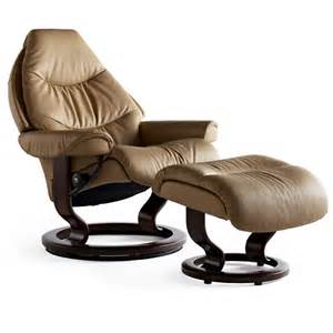 stressless voyager large recliner chair ottoman large