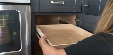 convert kitchen cabinets to pull out drawers how to convert cabinet shelves into cabinet drawers in
