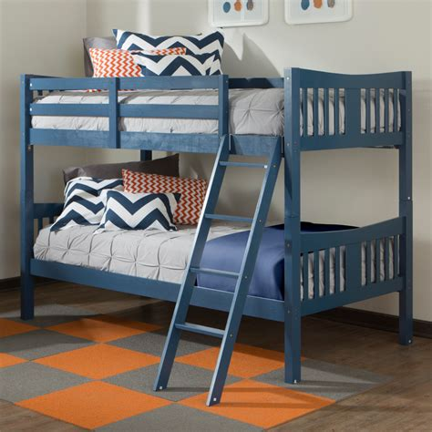Storkcraft Caribou Bunk Bed Navy Bunk Beds Latitudebrowser