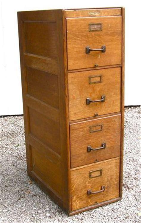 Oak Filing Cabinet 4 Drawer Antique 4 Drawer Wagemaker Quartersawn Oak File Cabinet Grand Rapids Mi 1910 Ebay Stuff To