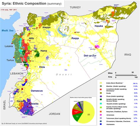 middle east map ethnic anthropology of accord map on monday syria