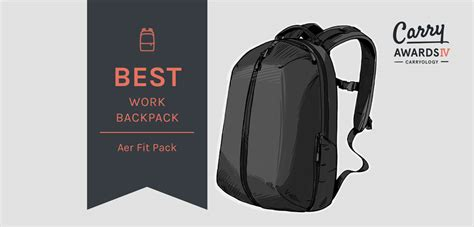 Fit Pack best work backpack results carry awards iv carryology