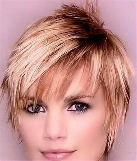 very pretty spiky femine hairstyles hip short haircuts