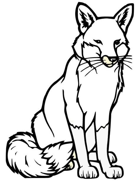 Template Of A Fox by Fox Template Animal Templates Free Premium Templates