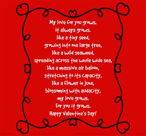 valentines day for husband valentines poems for him for your boyfriend or husband