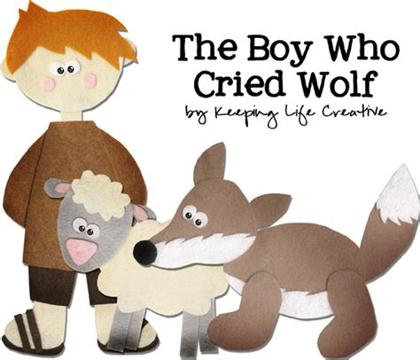 The Boy Who Cried Wolf Keeping Life Creative Boy Who Cried Wolf Clipart Printable
