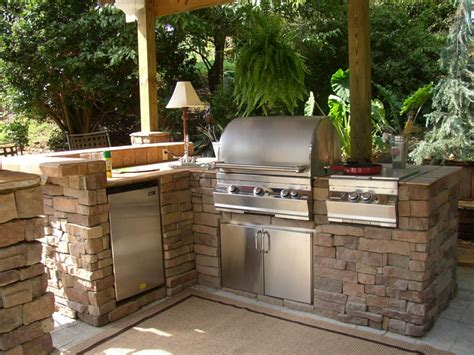 custom backyard bbq outdoor barbecue all county landscape hardscape