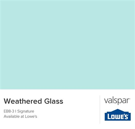weathered glass from valspar paint color ideas