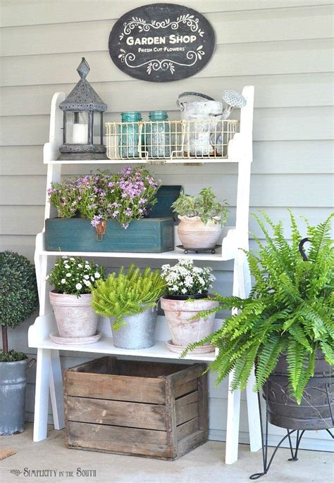 seasonal simplicity spring home   summer porch