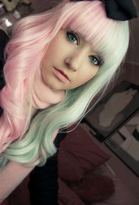 pastel hair rachelinvogue page