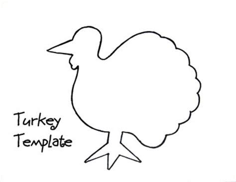 printable turkey cut out template best photos of printable turkey pattern teacher