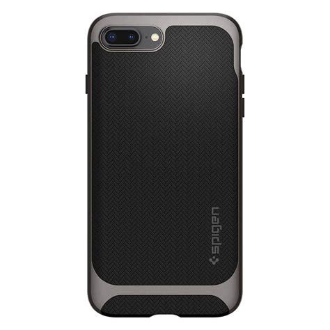 Spigen Iphone 7 Plus Iphone 8 Plus Neo Hybrid Gunmetal Spigen 174 Neo Hybrid Herringbone 055cs22227 Iphone 8 Plus