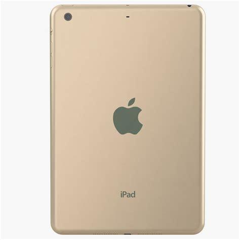 Apple 3 Mini apple mini 3 gold 3d model max obj cgtrader