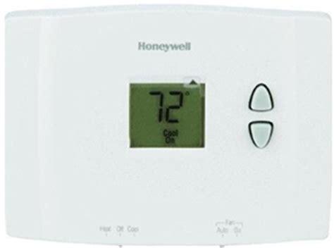 thermostat temperature swing honeywell rth111b1016 e1 digital non programmable