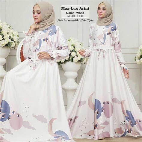 Harga Baju Merk Humaira baju lebaran terbaru maxmara arini putih model baju