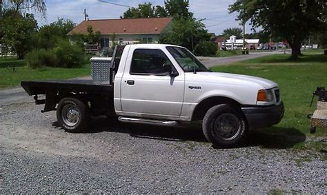 flatbed ford ranger purchase used 2001 flatbed ford ranger xl standard cab