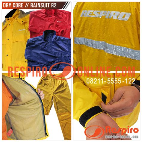 Yamaha Suit 02 Jas Hujan Blue jaket hujan anti air respiro 100 waterproof jacket