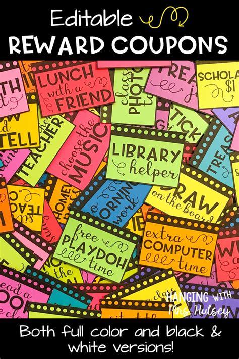 printable reward tickets classroom the 25 best free classroom rewards ideas on pinterest