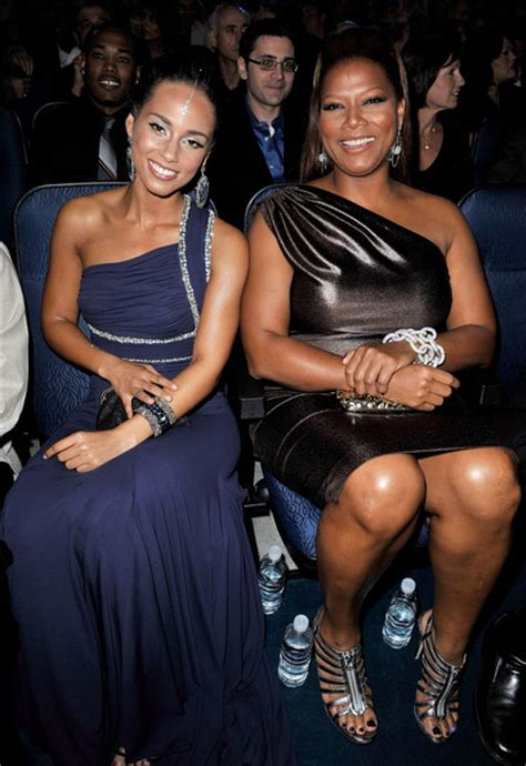 film alicia keys queen latifah 2008 american music awards audience and backstage zimbio