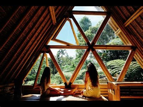magical bamboo airbnb  hideout bali youtube