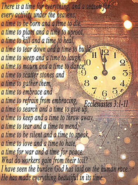 A Time For Everything by Poss My An Everyday Tool For God