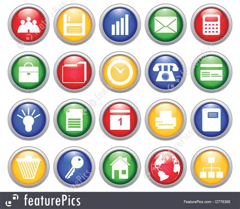 Free Online Home Color Design Software Illustration Of Business And Office Icons Set