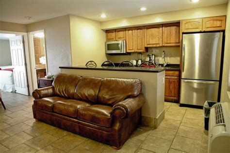 deluxe suite with a separate living room and a size