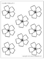 printable lei flowers flowers printable templates coloring pages