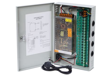 Power Supply 12v 10a Box nordstrand cctv power supply distribution box unit