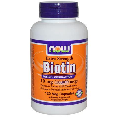 12 natural surprising foods to find biotin 12 maneras naturales de now foods biotin 10 mg 10 000 mcg extra strength 120