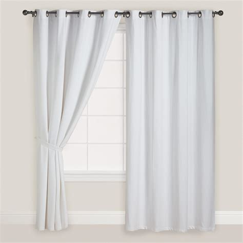 cheap white curtain panels sheer drapery ideas