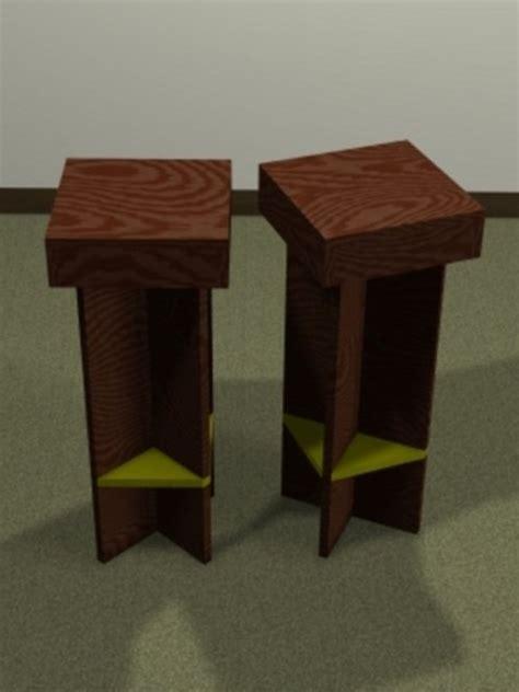 diy bar stool plans diy plans for bar stools from plywood